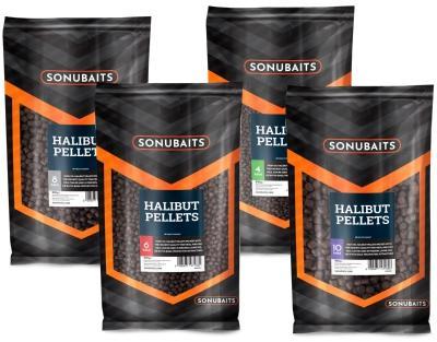 SONUBAITS FEED HALIBUT PELLETS 4mm 900g